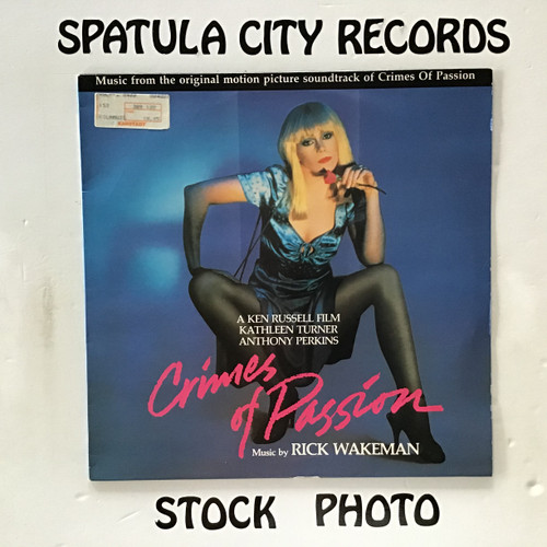 Rick Wakeman - Crimes Of Passion - soundtrack - IMPORT - vinyl record LP