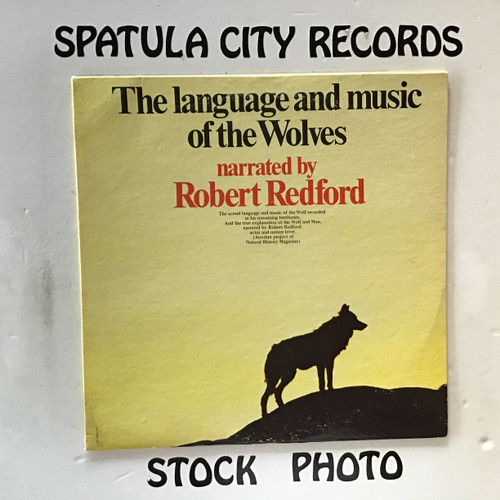 Robert Redford - The Language and Music of the Wolves - vinyl record LP