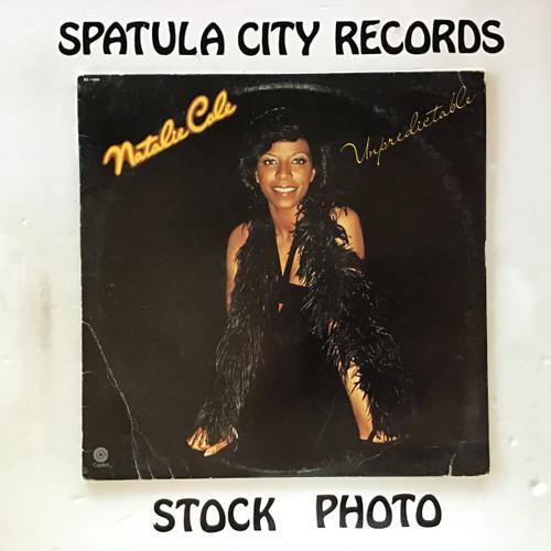 Natalie Cole - Unpredictable - vinyl record LP