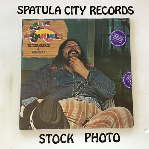 Charlie Daniels - Te John, Grease and Wolfman - SEALED - vinyl record LP