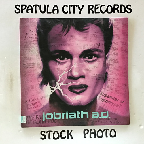 Jobriath - Jobriath A.D. A Rock 'N' Roll Fairy Tale + Popstar The Lost Musical - vinyl record LP