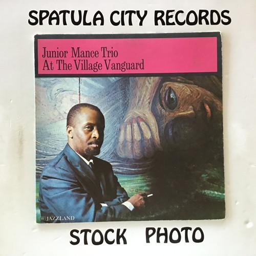 Junior Mance Trio - At The Village Vanguard - MONO - vinyl record LP