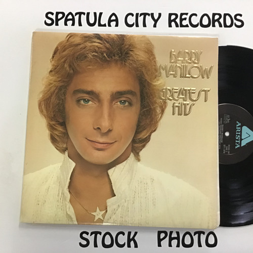 Barry Manilow - Greatest Hits - double vinyl record LP