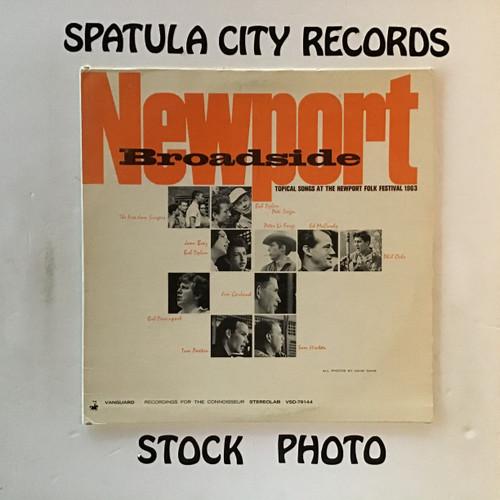 Newport Broadside - compilation - vinyl record LP