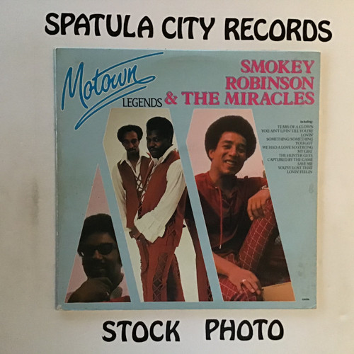 Smokey Robinson and The Miracles - Motown Legends - vinyl record LP