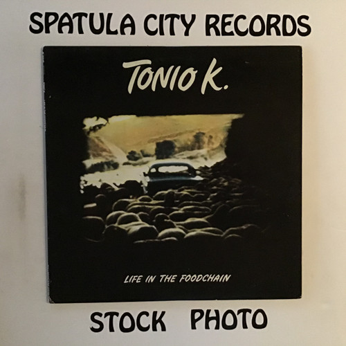 Tonio K. - Life In The Foodchain - PROMO - vinyl record LP