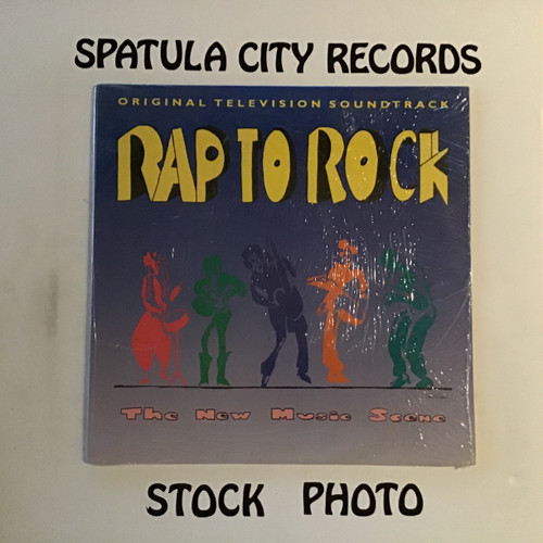 Rap to Rock The New Music Scene - compilation - soundtrack - vinyl record LP