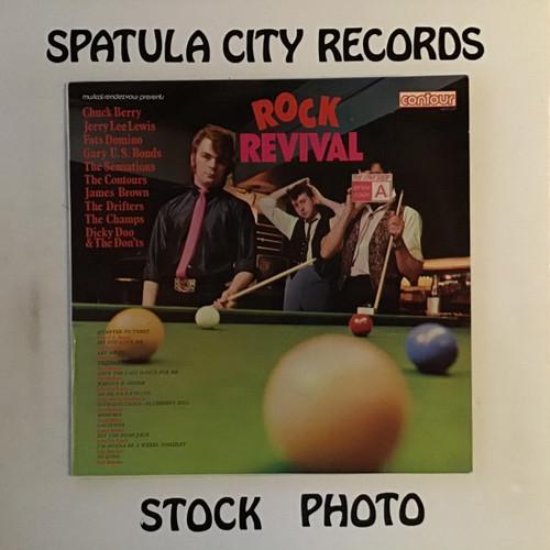 Rock Revival - compilation - IMPORT - vinyl record LP