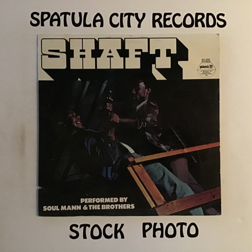 Soul Mann and The Brothers - Shaft - vinyl record LP