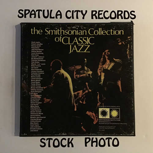 Smithsonian Collection Of Classic Jazz, The - compilation - six vinyl record LP
