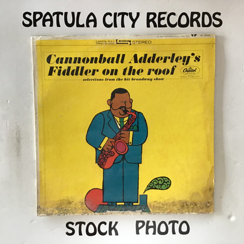 Cannonball Adderley - Cannonball Adderley's Fiddler on the Roof - vinyl record LP