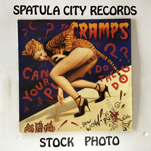 Cramps, The - Can Your Pussy Do The Dog? - IMPORT - vinyl record LP