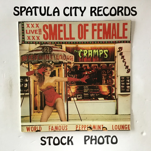 Cramps, The - Smell Of Female - IMPORT - vinyl record LP
