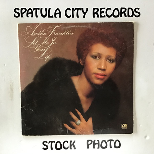 Aretha Franklin - Let Me In Your Life - vinyl record LP