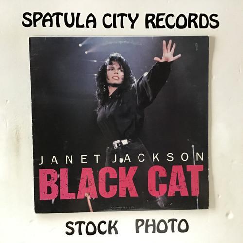 Janet Jackson - Black Cat - vinyl record LP