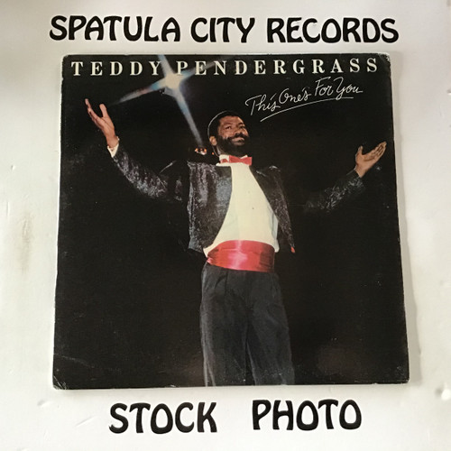 Teddy Pendergrass - This One's For You - vinyl record LP