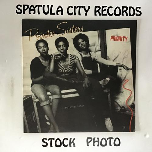Pointer Sisters - Priority - vinyl record LP