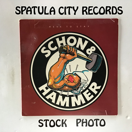 Schon and Hammer - Here To Stay - PROMO - vinyl record LP