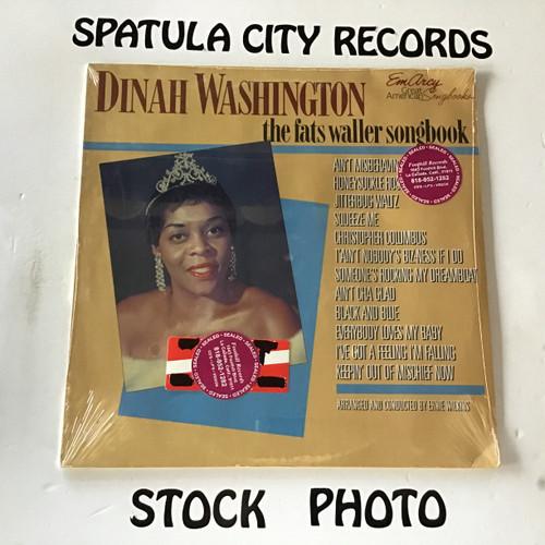 Dinah Washington - The Fats Waller Songbook - SEALED - IMPORT - vinyl record LP