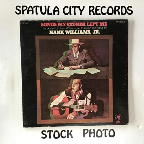 Hank Williams Jr. - Songs My Father Left Me - vinyl record LP