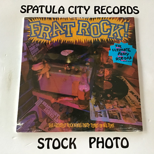 Frat Rock The Greatest Rock'N'Roll Party Tunes of All Time - compilation - SEALED - vinyl record LP