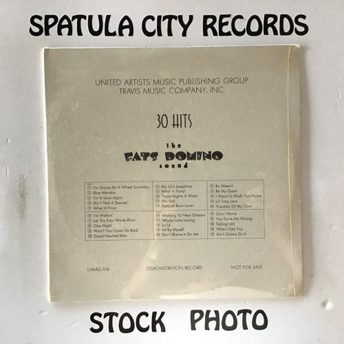 Fats Domino - 30 Hits The Fats Domino Sound - PROMO - SEALED - vinyl record LP