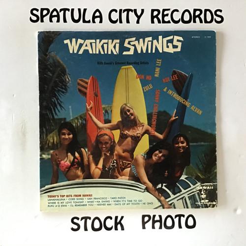 Waikiki Swings - compilation - vinyl record LP