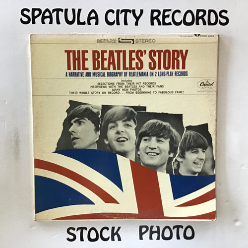 Beatles, The - The Beatles' Story - double vinyl record LP