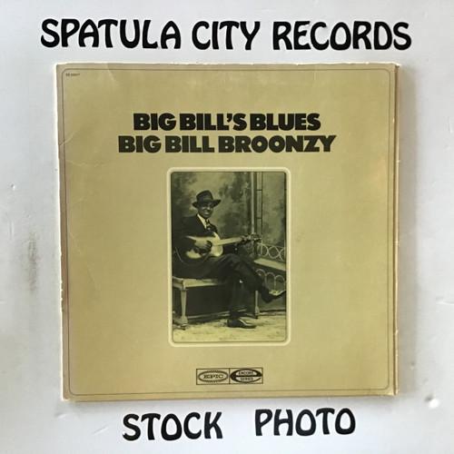 Big Bill Broonzy - Big Bill's Blues - MONO - PROMO - vinyl record LP