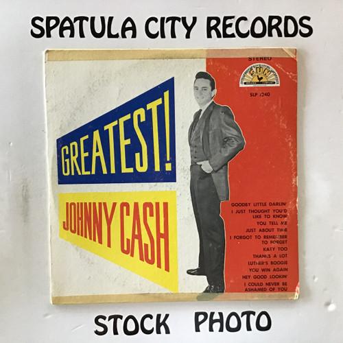 Johnny Cash - Now Here's Johnny - vinyl record LP