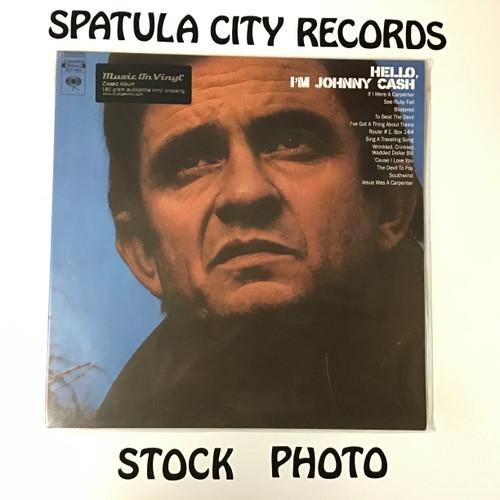 Johnny Cash - Hello, I'm Johnny Cash - 180 MOV re-issue SEALED - IMPORT - vinyl record LP
