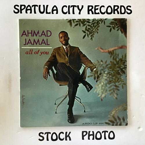 Ahmad Jamal - All of You - MONO - vinyl record LP