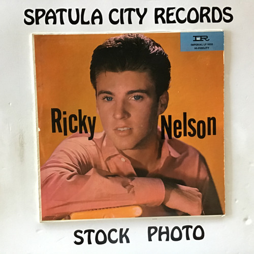 Ricky Nelson - Ricky Nelson - MONO - vinyl record LP