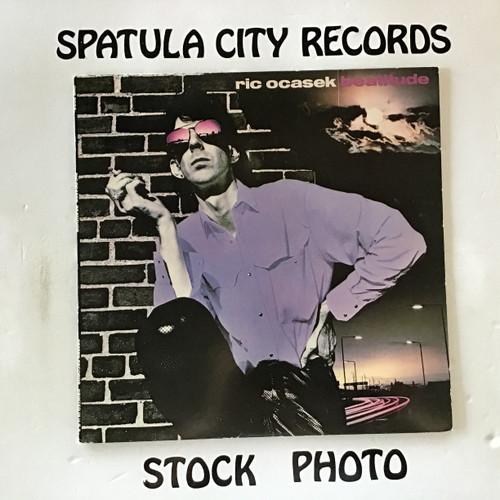 Ric Ocasek - Beatitude - vinyl record LP