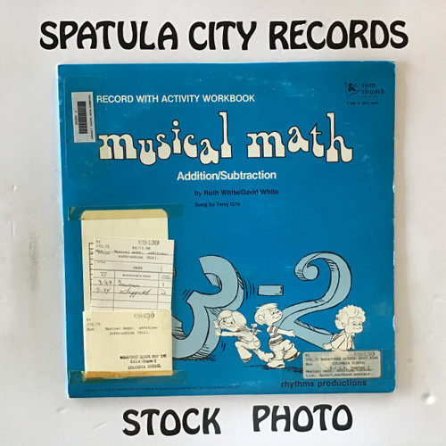 Ruth White and David White - Musical Math Addition / Subtraction - vinyl record LP