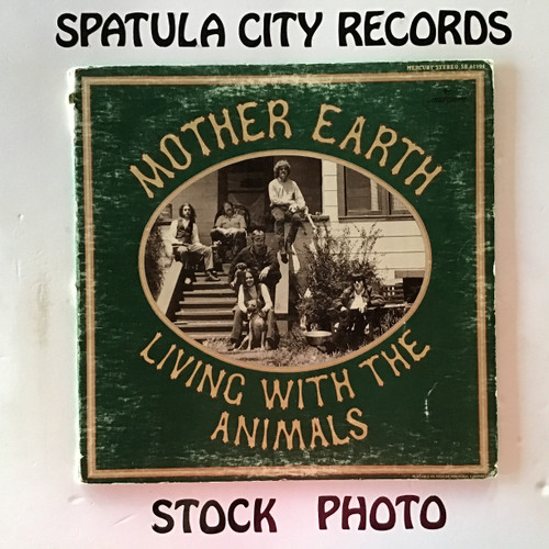 Mother Earth - Living With The Animals - vinyl record LP