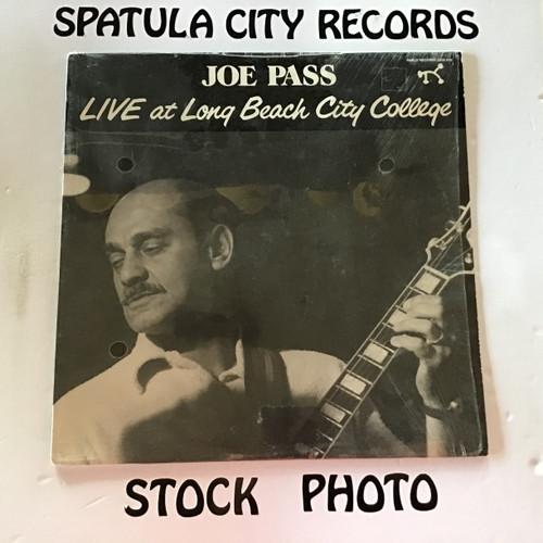 Joe Pass - Live at Long Beach City College - vinyl record LP