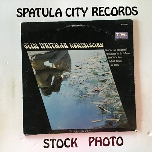 Slim Whitman - Reminiscing - vinyl record LP