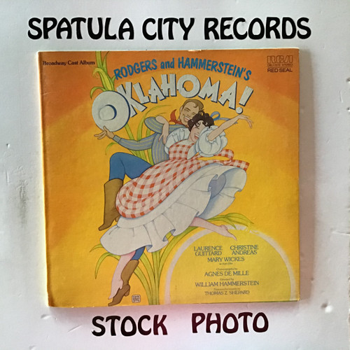Rogers and Hammerstein - Oklahoma! - soundtrack - vinyl record LP