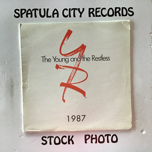 The Young and The Restless Album - 1987 - compilation - vinyl record LP