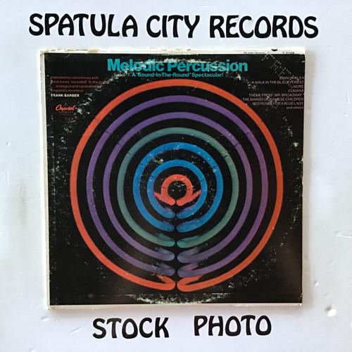 Frank Barber - Melodic Percussion - MONO - PROMO - vinyl record LP
