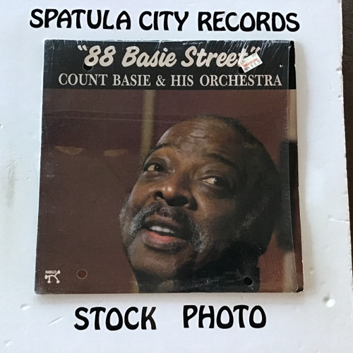 Count Basie and His Orchestra - 88 Basie Street - vinyl record LP