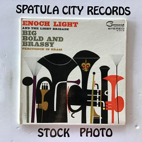 Enoch Light and The Light Brigade - Big, Bold and Brassy - vinyl record LP