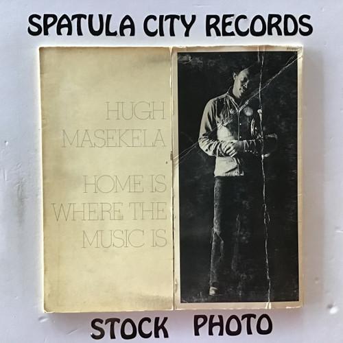 Hugh Masekela - Home Is Where The Music Is - double vinyl record LP