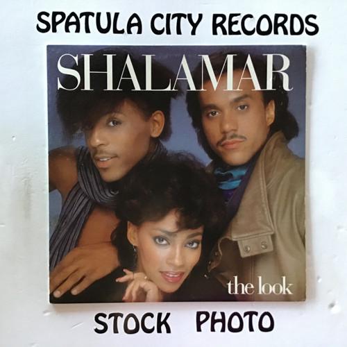 Shalamar - The Look - WLP PROMO - vinyl record LP