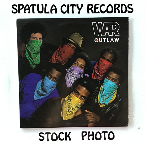 War - Outlaw - vinyl record LP
