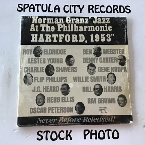 Norman Granz' Jazz at The Philharmonic Hartford, 1953 - compilation -  IMPORT SEALED - vinyl record LP