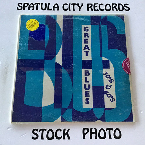 Great Blues of the 30's and 40's - compilation - MONO - SEALED - vinyl record LP