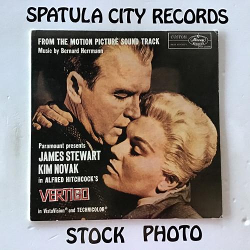 Bernard Hermann - Vertigo - soundtrack - MONO - IMPORT - vinyl record LP