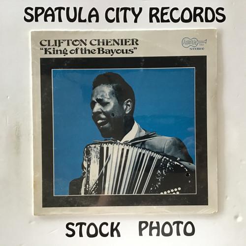 Clifton Chenier - King of The Bayous - SEALED - vinyl record LP